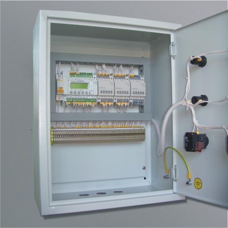 Комбинированное исполнение корпуса шкафа управления